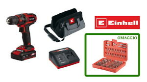 Einhell - TC-CD 18/35 Li Trapano avvitatore a batteria Litio 18V PowerXChange