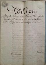 Gent 1818 MOOIE akte hypotheeklening