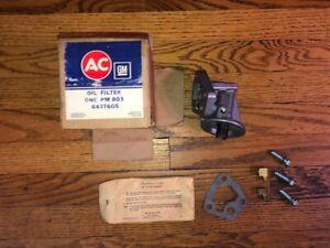NOS AC GM 1970-76 Pontiac Firebird Trans Am GTO 350-400-455 Oil Filter Adapter