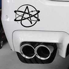 Atheist Symbol Car Vinyl  Wall Sticker  Darwin Darwinism Evolution of Species