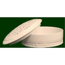 Royal Creamware Pierced Trinket Box