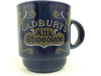 Vintage Cadbury Cadbury's Milk Chocolate Art Nouveau Advertising Mug England