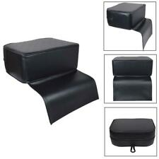 Black Child Booster Seat Kid Barber Chair Antique Mat Beauty Spa Salon Equipment