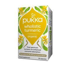 💚 Pukka Herbs Organic Wholistic Turmeric 30capsules