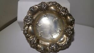 Art Nouveau Sterling Silver Berry Bowl by Gorham #816 8 Estate Elegant 85.8 Gram