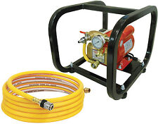 Electric Hydro Test Pump 3/4 H.P, 500 Psi, with Cage & 15' hose- Reed EHTP500C