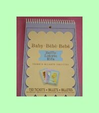 Baby Shower Prize Tickets or Raffel Tickets - 150 per pack - BABY SHOWER GAME