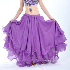 NWT Belly Dance Costume Three layers Skirt Dress 13 Colours