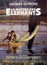 LE MAITRE DES ELEPHANTS - Dutronc - 47x63 FRENCH POSTER