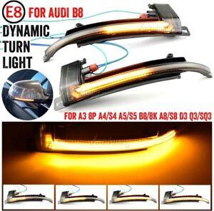 Clignotant LED Dynamique de Rétroviseur Pour Audi A3 8P A4 B8 B8.5 A5 A6 A8 Q3