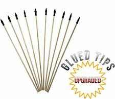 UteCiA Safety Archery Target Arrows - 18 Inch Premium Wooden Arrows for Kids