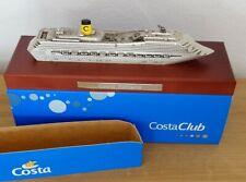 Costa Fortuna Schiffsmodell Costa Crociere modellino Navire bateau model + OVP
