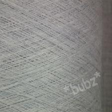 PURE MERINO WOOL 500g CONE 2/30 SILVER GREY LACEWEIGHT COBWEB YARN 2 PLY