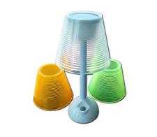 Powerplus turtle-solaire & usb alimenté led lampe de table 3 couleurs new & boxed