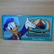 Disney License Plate Sign Tin Donald Mysterious Island Tokyo DisneySea Limited