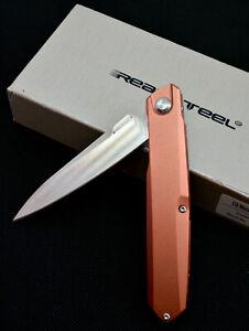 REAL STEEL G5 Metamorph Rose Gold Messer Taschenmesser mit OVP