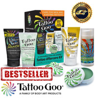 Tattoo Goo Aftercare Range - Goo Lotion Soap - Best Healing + Protection