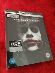 THE DARK KNIGHT LIMITED EDITION 4K + BLU RAY FILM BOOK / DIGIBOOK NEW SEALED