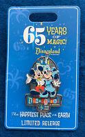 New 2020 Disney Disneyland 65th Anniversary 65 years of Magic pin Mickey Minnie