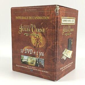 Jules Verne : L'intégrale de l'animation - Coffret 10 DVD / Dessin Animé