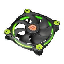 THERMALTAKE riing 12 LED VERDE - 12cm Green LED RING CASE PC FAN - 40,6 CFM