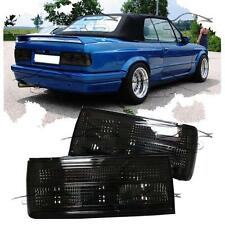 REAR TAIL LIGHT BLACK FOR BMW E30 CABRIO SALOON TOURING 87-94 SERIES 3