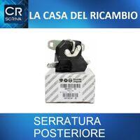 SERRATURA COFANO POSTERIORE CHIUSURA PORTELLONE ORIGINALE FIAT 500 GRANDE PUNTO