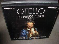 KARAJAN / DEL MONACO / VERDI otello ( classical ) 3lp box london