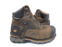 """Timberland PRO Men's Boondock 6"""" Comp Toe Work Boots Brown Size 11"""