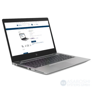"""HP ZBook 14u G5 i7-8650U 1.9GHz 14"""" FHD Touch Sure View 512GB NVMe SSD WX3100"""