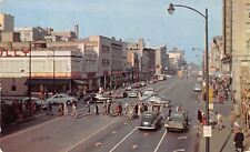 South Bend Indiana~Michigan Avenue~Richman's~Spiro Clothing Store~1940s Cars~PC