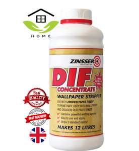 Zinsser Dif Wallpaper Stripper Fast And Easy Removal Of Wallcoverings-1 litre.