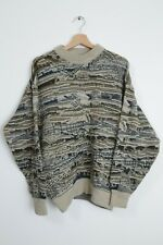VINTAGE Sweater Oversized Coogi Style Wool Mens Size L