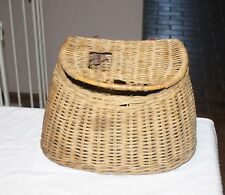 Classic Wicker Fishing Creel 13.5""