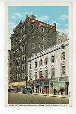 Hotel Hayward & Odenbach Coffee Shoppe ROCHESTER NY Antique Restaurant 1920s