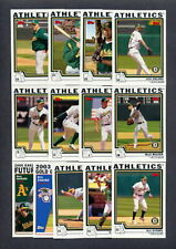 2004 Topps Oakland A's TEAM SET + Traded