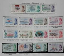 Mint Hinged Decimal British Colonies & Territories Multiple Stamps