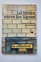 Le métro entre les lignes 1979
