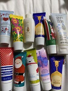 Avon lot of 11 Mini Shower Mini Lotions New Old Stock