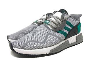 AH2232 ADIDAS EQT CUSHION ADV Running Shoes GREY/GREEN / WHITE SIZE 10 Men's