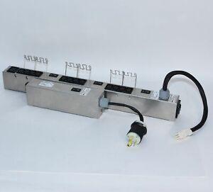 EMC 12Outlet PDU Power Strip 240V L6-30P Circuit Breaker 100-885-137 100-855-137