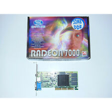 ATI Radeon 7000 32MB DDR AGP 4X Video Graphics Card VGA/TV Out Retro Gaming PC