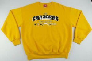 Vintage NFL San Diego LA Chargers Crew Neck Sweater Size Men's Large L