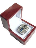 2013 Seattle Seahawks DESIGN Super Bowl SP Brass Championship Ring & Wood Box