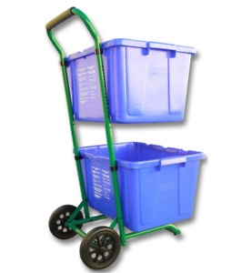 Recycle Bins Robust Recycle Cart for Simple Recycle Bin Moving | Recycle Caddy (