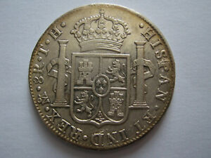 1805 8 Reales Carolus 1111 Mexico Mint Silver Coin.