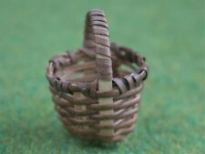 Tiny Basket, Dolls House Miniatures, Accessory, 1.12 Scale