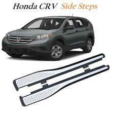 Honda CRV 2012 + Aluminium Side Running Boards Bar Steps OEM Protection -M219