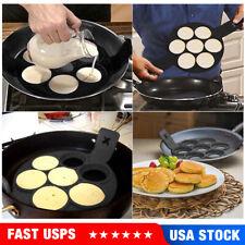 Non-Stick Pancake Pan Flip Perfect Breakfast Maker Egg Omelette Flipjack Tools