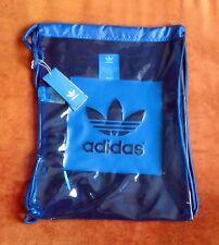 ADIDAS AC Eqiupment blue Gymsack Turnbeutel Shopper Einkaufstasche Sportbeutel